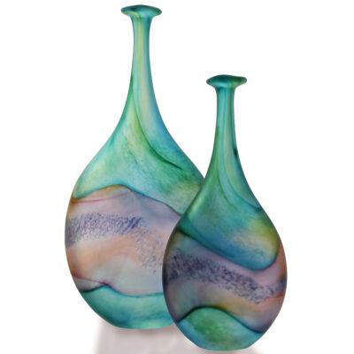 Silk Float Flattened Flasks